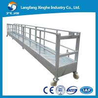Buy cheap 630kg hot galvanized aerial high rise lifting gondola for