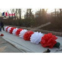 Quality 10 M Length Advertising Inflatables Flower Wedding Decoration Oxford Fabric wholesale