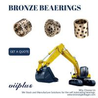 Quality Cast Bronze Sleeve Bushing Replacement Aluminum Bronze Self Lube Bearings wholesale