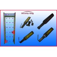 Quality Airport Security Checking Door Frame Metal Detector , Multi Zone Walk Through Gate wholesale