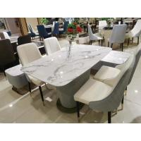 China Artificial Marble Top Coffee Table With Chairs High Density Easy Cleaning on sale