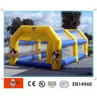 Quality Outdoor Inflatable Batting Cages , Funny Sports Game Inflatable Driving Range For Tennis Cage Game wholesale