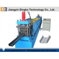 China C Channel Purlin Roll Forming Machine With Mitsubishi PLC , Sheet Metal Rolling Machine on sale