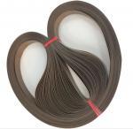 Quality Endless Teflon Coated Fabric Composite Belt Clothing Bonding Machine Belt wholesale
