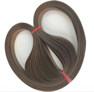 China Endless Teflon Coated Fabric Composite Belt Clothing Bonding Machine Belt on sale