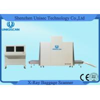 Quality Dual Energy X Ray Baggage Scanner Tunnel Size 1m*1m Baggage Parcel Inspection wholesale