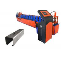 China Steel Frame Drywall Stud Roll Forming Machine , Drywall Making Machine U Channel on sale