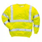 Quality Hi Vis Fleece Reflective Safety Sweatshirt wholesale