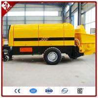 Buy cheap CE approved china manufacture concrete canvas concrete conveyor pump from wholesalers