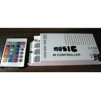 Quality 24 Key IR Wireless 5050 Spotlight RGB Strip Led Music Controller With Remote 5A 12v wholesale