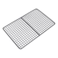 Quality Safety Titanium Barbecue Grill Wire Mesh , Healthy Bbq Charcoal Tray wholesale