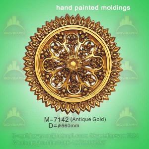 Quality Ceiling Centre Decoration Plaster Of Paris Ceiling Medallions wholesale