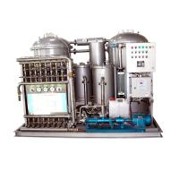 China Marine Oil Water Separator Machine With Plunger Pump 0.25Kw Vacuum Water Separator on sale