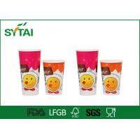 Quality 8 / 10 / 12 oz Single Wall Paper Cups Disposable For Hot Coffee wholesale
