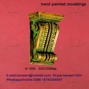 Quality Decorative Polyurethane (PU) Exotic Corbels/PU Foam Cornice Mouldings/PU Caving mouldings wholesale
