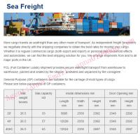 Quality Sea Freight wholesale