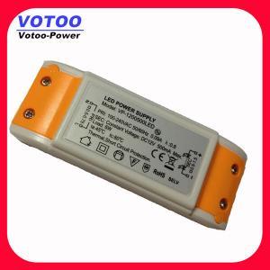 Quality Orange / Blue 12V Constant Voltage LED Driver 12W For LED strips , AC LED Power Supply wholesale