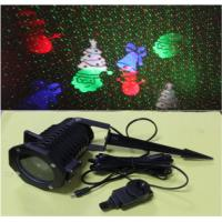 Buy cheap Outdoor Green+Red moving Firefly Landscape Laser with LED patterns projector product