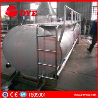 Quality Farm Used 3000L Sus304 Milk Cooling Tank 500-10000L Manual ISO9001 wholesale
