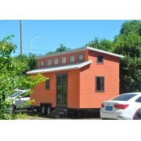 Quality WPC Board Wall Prefabricated Tiny Homes On Wheels Cider Box Tiny House wholesale