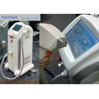 Quality FDA Pain Free Diode Laser Hair Removal Machines 808nm And 810nm Wavelength wholesale