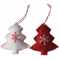 Quality Personalized Wool Felt Christmas Party Crafts Ornament For Home Decorations wholesale