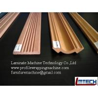 Quality interior mouldings profile wrapping machine wholesale
