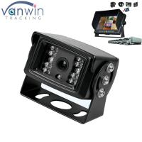 Quality 18 IR lights 24V HD Truck reverse camera with aviation connector , 15M IR distance wholesale
