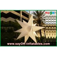 Quality Custom Holiday Inflatable Lighting Decoration , Blow Up Stars wholesale