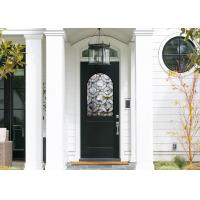 China Good Apperance Entry Door Replacement Glass Frame Heat And Sound Insulation on sale