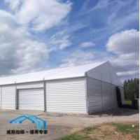 Quality Industrial Temporary Warehouse Tent Solid Wall Durable Aluminum Structure wholesale