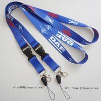 Quality China Factory for Event Dye Sublimation Lanyard/Heat Transfer Printing Lanyard with Cell phone attachment wholesale