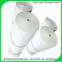 China Die cutting grey board for files holder on sale