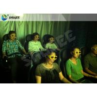 Quality Movie Rides 5D Movie Theater 5D Cinema Equipment With Black / Red Chair wholesale