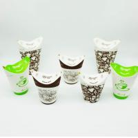 China Recyclable Packing PLA Coated Paper Cups , Biodegradable Paper Cups Customized Logo on sale