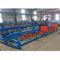 Quality Two Wires Auto Diamond Chain Link Fence Machine For Highway Protection Fence wholesale