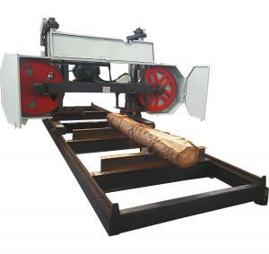 Buy cheap Heavy Duty Large Horizontal Band Sawmill CNC Wood Saw Cutting Machine from wholesalers