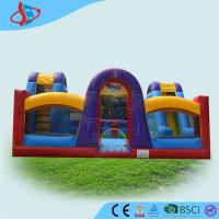 Quality Commercial Kids Inflatable Slides / Inflatable Jumping Castles For Party wholesale
