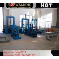 VFD Spot Welding Speed Control H Beam Assembling Machine Automatic To Fix Flange And Web
