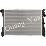 Light Weight Low Noise Mercedes Car Radiator , Custom Aluminum Radiator With