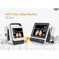 Quality 10000 Shots Focused Ultrasound Skin Lifting Machine With 15 Inch Colour Touch Screen wholesale