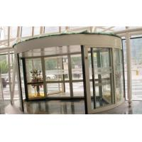Quality 2 Wing Stainless steel  frame Automatic Revolving Door for Hotel / Bank / Airport wholesale
