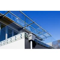 Cheap Frameless stainless steel glass balustrade with Patch Fittings for sale