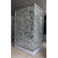 Quality Modern Corner Shower Enclosures / One Piece Small Square Shower Stall wholesale