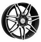 China Black Alloy Aluminum 20 Inch Alloy Rims  / Chrome Wheels For BENZ on sale