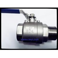 """Quality Female / Male End Stainless Steel Ball Valves 1/4"""" - 4"""" Investment Casting Body wholesale"""