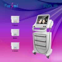 Cheap Biggest promotion for HIFU face lift and wrinkle removal machine for sale