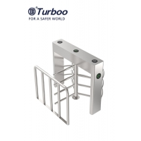 Quality Access Control Half Height Turnstile / SUS 304 Stainless Security Turnstile wholesale