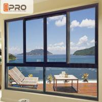 Quality Sound And Thermal Insulation Aluminium Horizontal Sliding Window  Easy To Install office sliding glass window wholesale