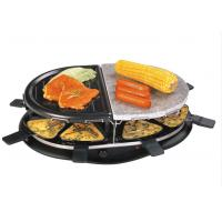 Quality With raclette pans Black Home Electric BBQ Grill XJ-3K076CO wholesale